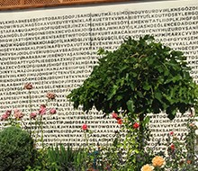 """Hich Hotel Konya<br>""""Bulmaca"""" Duvar Tasarımı"""