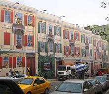 """Turkcell """"İstanbul/Akaretler Bina Giydirme"""" Projesi"""