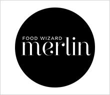 """Merlin Yılmaz Logo Tasarımı<br>""""Food Wizard Merlin"""""""