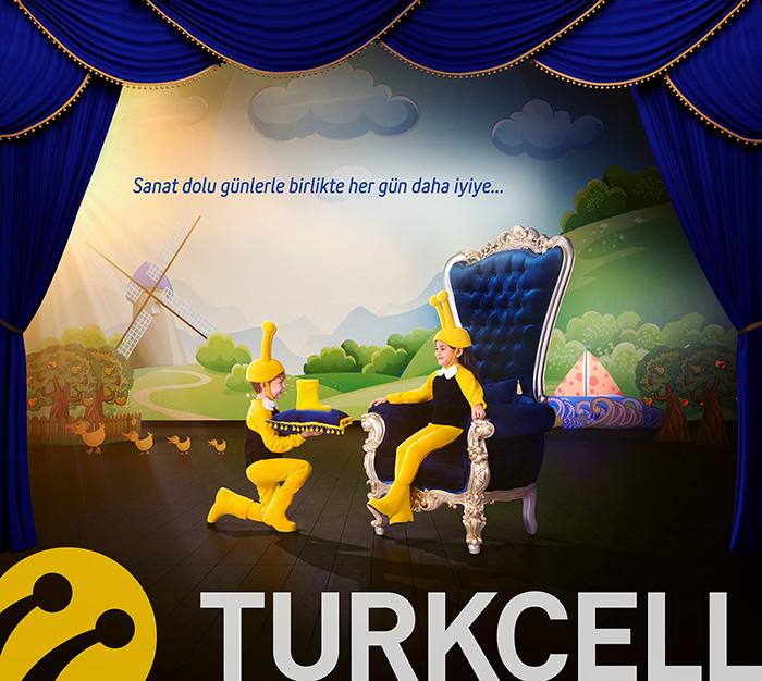"""Turkcell """"Zorlu Performans Sanatları"""" Sponsorluk<br>Basın İlanları"""