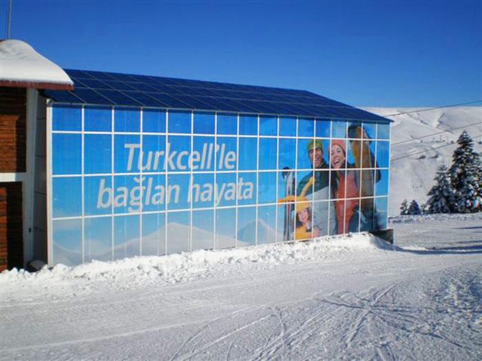 Turkcell &#8220;Bağlan Hayata&#8221;<br>Kışlık Mekan Sponsorluk Kampanyası