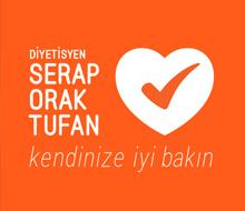 Diyetisyen<br>Serap Orak Tufan<br>Logo Tasarımı<br>&#8220;Kendinize iyi bakın&#8221;
