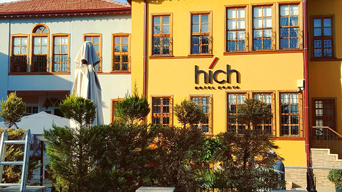 Hich Hotel Konya<br>Logo Tasarımı