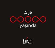 Hich Hotel Konya<br>Sosyal Medya Post'u