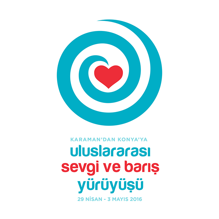 Sevgi ve<br>Barış Yürüyüşü<br>Logo Tasarımı