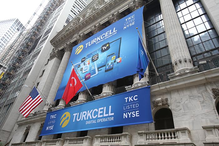 Turkcell NYSE Bayrak Tasarımı